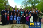 Another class gift at the U, another perfect place for a group shot!