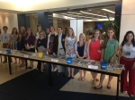 Here the D-SIP 2014 interns volunteer at Development Council, a meeting when all U-M development officers come together.